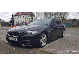 BMW F10 520D 2014R POLIFT ANGLIK AUTOMAT M PAKIET SKORA POLICE - SPRZEDAJEMY.PL