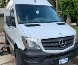MERCEDES SPRINTER 4X4 CONVERSION   CARS & TRUCKS   CALGARY   KIJIJI