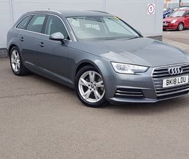 USED 2018 (18) AUDI A4 DIESEL AVANT 2.0 TDI ULTRA SPORT 5DR S TRONIC [LEATHER] IN INVERNES