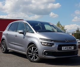 USED 2019 (19) CITROËN C4 SPACETOURER 1.2 PURETECH 130 FLAIR 5DR IN LINWOOD
