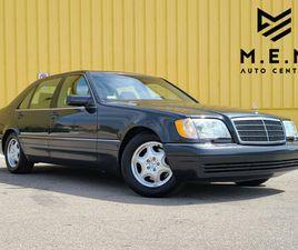 1997 MERCEDES S500   SHOWROOM CAR   55,816 KM   ALL ORIGINAL   CLASSIC CARS   OAKVILLE / H