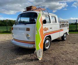 VW KOMBI BAY WINDOW PICK UP * RARE 3 DOOR CREW CAB