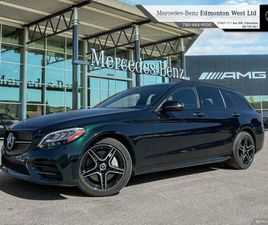 2019 MERCEDES BENZ C300 4MATIC WAGON STAR CERTIFIED, REMOTE START   CARS & TRUCKS   EDMONT