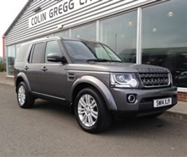 USED 2014 LAND ROVER DISCOVERY 3.0 SDV6 XS 5DR AUTO ESTATE 59,815 MILES IN GREY FOR SALE |