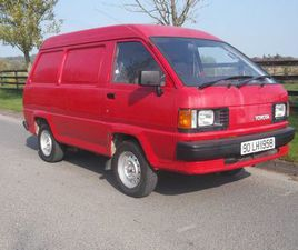 TOYOTA LITEACE 1990 2.0D **57000 MILES** FOR SALE IN LOUTH FOR €4,750 ON DONEDEAL