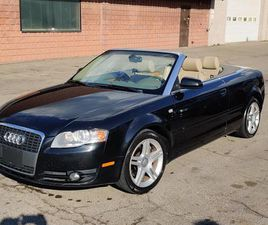 USED 2007 AUDI A4 CABRIOLET - WORKING TOP - LOW PRICE