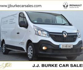 RENAULT TRAFIC LL30 BUSINESS DCI 120BHP ENERGY D FOR SALE IN MAYO FOR €25,500 ON DONEDEAL
