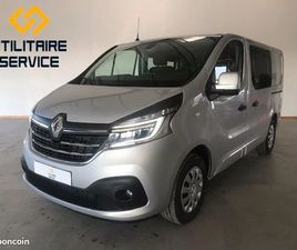 RENAUT TRAFIC L1H1 CABINE APPROFONDIE 5 PLACES DCI 170 ENERGY EDC GRAND CONFORT / NEUF