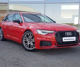 USED 2020 (20) AUDI A6 40 TDI BLACK EDITION 5DR S TRONIC IN INVERNESS