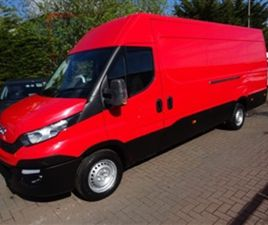 USED 2016 IVECO DAILY 2.3 35S15V 146 BHP NOT SPECIFIED 66,000 MILES IN RED FOR SALE | CARS