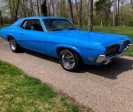 FOR SALE AT AUCTION: 1970 MERCURY COUGAR IN CARLISLE, PENNSYLVANIA
