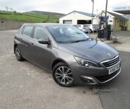 USED 2017 PEUGEOT 308 ALLURE HDI BLUE S/S HATCHBACK 40,000 MILES IN GREY FOR SALE | CARSIT