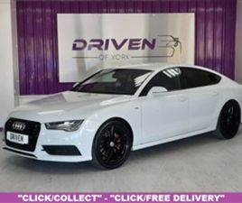 USED 2016 AUDI A7 3.0 SPORTBACK TDI QUATTRO S LINE 5D 268 BHP HATCHBACK 42,800 MILES IN WH