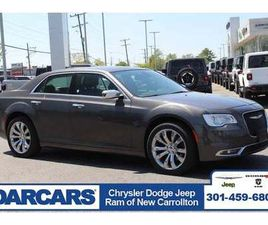 GRAY COLOR 2019 CHRYSLER 300 LIMITED EDITION FOR SALE IN NEW CARROLLTON, MD 20784. VIN IS