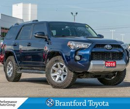 2016 TOYOTA 4RUNNER TRD TRAIL EDITION   FREE WINTER TIRES INCLUDED    CARS & TRUCKS   BRAN