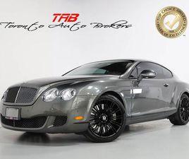 USED 2010 BENTLEY CONTINENTAL GT SPEED I W12 I 600HP I NAVI I CAM I 20 IN WHEELS