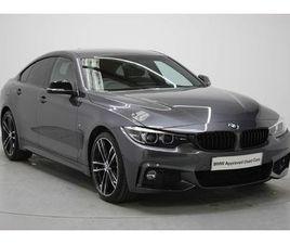 BMW 4 SERIES GRAN COUPE 430I M SPORT GRAN COUPE AUTO 2.0 5DR
