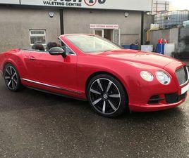 2014 BENTLEY CONTINENTAL 6.0 GT SPEED W12 CONVERTIBLE - £52,995