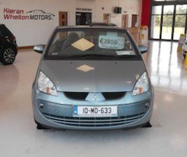 MITSUBISHI COLT, 2010 CONVERTIBLE FOR SALE IN MAYO FOR €3950 ON DONEDEAL