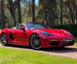 BOXSTER 2.5T S PDK (S/S) 2DR - GREAT SPEC - LED HEADLIGHTS - NAVIGATION -