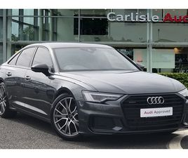 USED 2019 AUDI A6 45 TFSI QUATTRO BLACK EDITION 4DR S TRONIC SALOON 13,714 MILES IN GREY F