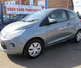USED 2014 FORD KA 1.2 EDGE 3DR [START STOP] HATCHBACK 30,239 MILES IN SILVER FOR SALE | CA