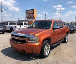 USED 2007 CHEVROLET AVALANCHE LT**LOADED*CHROME WHEELS*SUNROOF*LEATHER*4X4*CERT