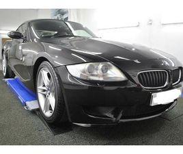 BMW Z SERIES Z4 M COUPE (SAT NAV/AIR CON) RARE RUBY BLACK 2006