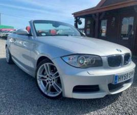 2009 BMW 135I M SPORT 2DR STEP AUTO CONVERTIBLE 18K FINE EXAMPLE 1 OWNER