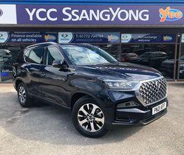 2021 SSANGYONG REXTON - £35,995