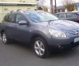 NISSAN QUASQU 1.5 DS. +2 C PACK. 7 SEATS 2010 FOR SALE IN WICKLOW FOR €6750 ON DONEDEAL