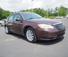 BROWN COLOR 2012 CHRYSLER 200 TOURING FOR SALE IN NEW BERN, NC 28564. VIN IS 1C3CCBBG8CN18