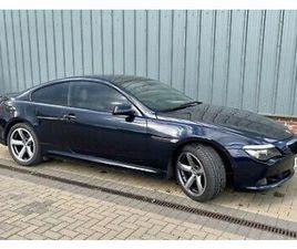 BMW 635D DIESEL AUTO LOW MILAGE LUXURY CAR FSH