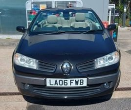 RENAULT MEGANE 1.5DCI 106 PRIVILEGE COUPE CABRIOLET 2D 1461CC 6SP - - USED CARS - EXCHANGE