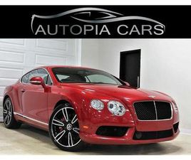 USED 2013 BENTLEY CONTINENTAL GT COUPE MULLINER PKG TOURING PKG V8 ACCIDENT FREE