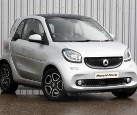 USED 2017 (17) SMART FORTWO COUPÉ 60KW ELECTRIC DRIVE PRIME PREM+ 17KWH 2DR AUTO IN INVERN
