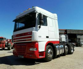 2011 DAF XF 105.460 SPACE CAB 6X2 MIDLIFT, FITTED TIPPING GEAR.