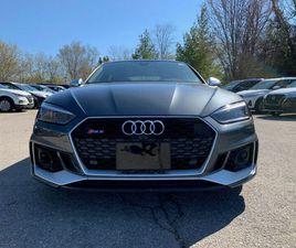2019 AUDI RS 5 SPORTBACK PREM PKG   RS INTERIOR PKG   RS CARBON   CARS & TRUCKS   MARKHAM