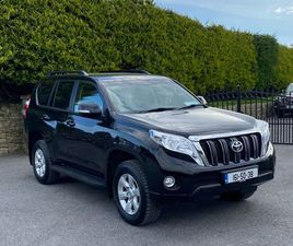 **2016 TOYOTA LANDCRUISER BUSINESS CLASS €333 TAX* FOR SALE IN MAYO FOR €0 ON DONEDEAL
