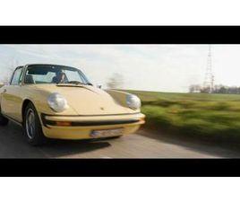 ② PORSCHE 911 TARGA G-MODEL 1973 2,7L SAHARA BEIGE RESTAURÉE - OLDTIMERS & ANCÊTRES