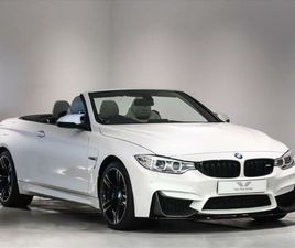 2017 BMW 4 SERIES 3.0 M4 (431BHP) (S/S) CONVERTIBLE M DCT - £30,000