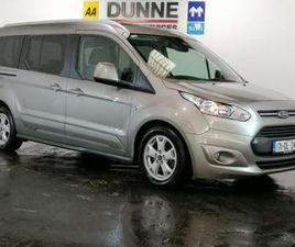 1.5TDCI WHEELCHAIR VEHICLE, AA APPROVED, AUTOMATIC/ TITANIUM SPEC, PANORAMIC ROOF, LOW MIL