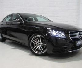 **AMG-LINE**ONLY 19,000 MILES**AUTOMATIC**2018 MERCEDES-BENZ E220D AMG-LINE 9G**FULL MAIN