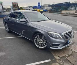 S 350 D AMG LINE EXECUTIVE PREMIUM// STUNNING LOW MILEAGE EXAMPLE// TAXED DEC 2021