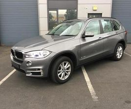 2016 BMW X5 25D SDRIVE 5 SEAT COMMERCIAL/CREWCAB
