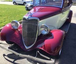 1934 FORD STREET ROD | CLASSIC CARS | ST. CATHARINES | KIJIJI