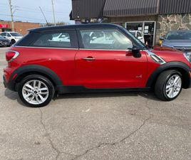 USED 2014 MINI COOPER PACEMAN ALL4 2DR S PACEMAN SUNROOF NO ACCIDENT 2ND TIRES