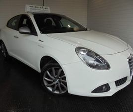 ALFA ROMEO GIULIETTA 2.0 JTDM-2 COLLEZIONE 5DR ONLY TWO OWNERS FROM NEW HATCHBACK 2013