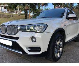 BMW X3 - 2017 (F25) (2) XDRIVE20DA 190 XLINE 109 000 KM 1RE MAIN