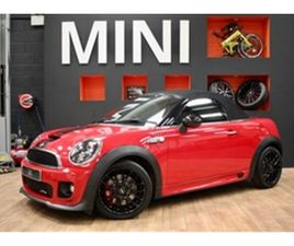 USED 2013 MINI ROADSTER JOHN COOPER WORKS CONVERTIBLE 53,200 MILES IN RED FOR SALE | CARSI